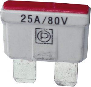 80V BLADE FUSE 25A. (10)